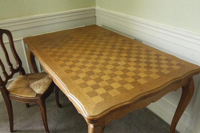 アンティークルイ15世フレンチダイニングテーブルtb32k画像2左側