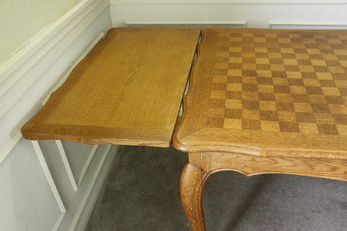 アンティークルイ15世フレンチダイニングテーブルtb32k画像5左側
