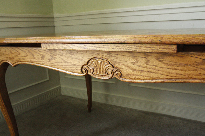 アンティークルイ15世フレンチダイニングテーブルtb32k画像6右側
