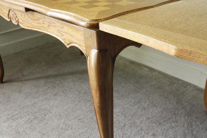 アンティークルイ15世フレンチダイニングテーブルtb32k画像8左側