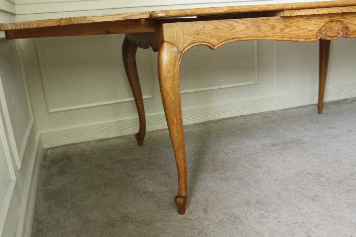 アンティークルイ15世フレンチダイニングテーブルtb32k画像11左側