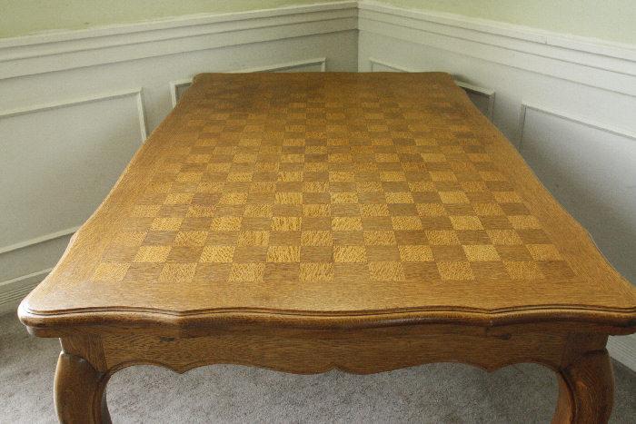 アンティークルイ15世フレンチダイニングテーブルtb32k画像13