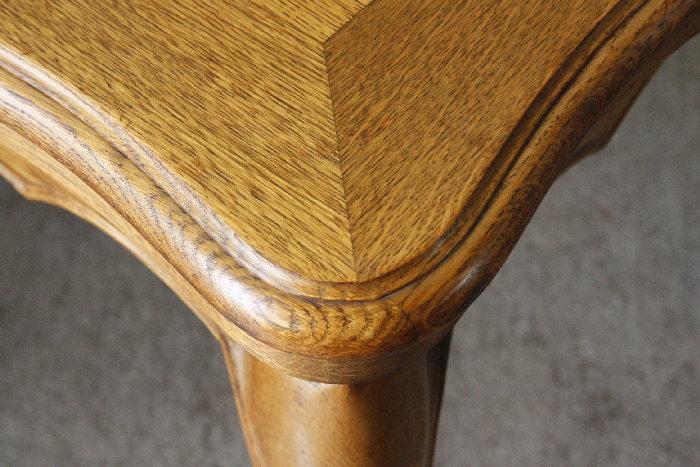 アンティークルイ15世フレンチダイニングテーブルtb32k画像12右側