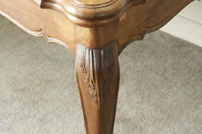 アンティークルイ15世フレンチダイニングテーブルtb37k画像4