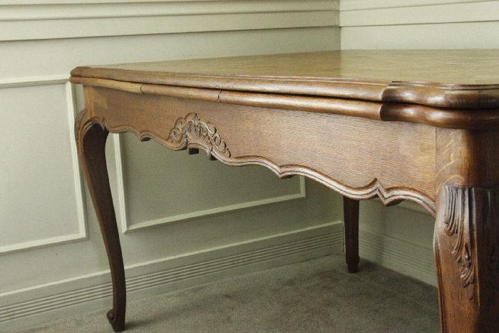 アンティークルイ15世フレンチダイニングテーブルtb37k画像6右側