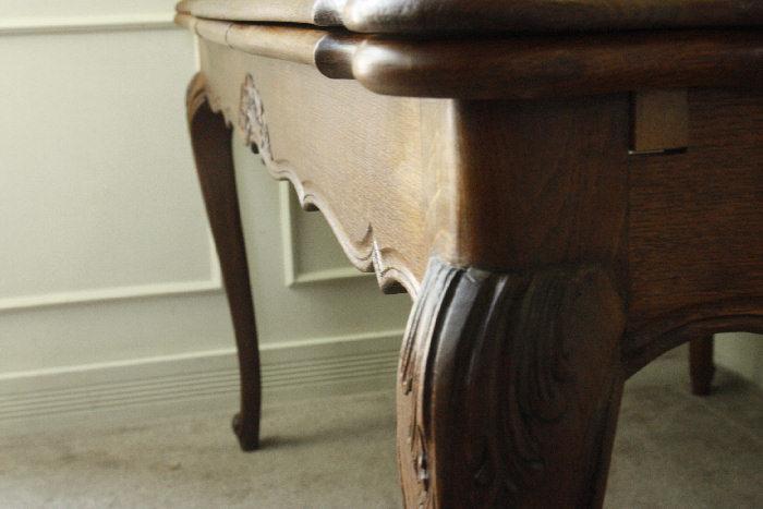 アンティークルイ15世フレンチダイニングテーブルtb37k画像10