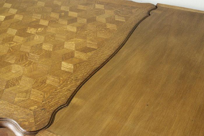 アンティークルイ15世フレンチダイニングテーブルtb37k画像11左側
