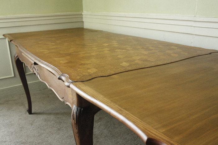 アンティークルイ15世フレンチダイニングテーブルtb37k画像12右側