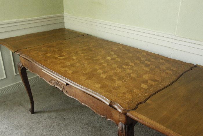 アンティークルイ15世フレンチダイニングテーブルtb37k画像13