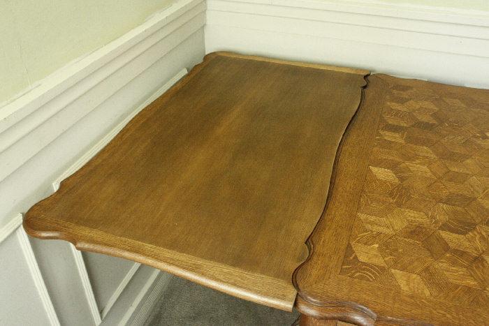 アンティークルイ15世フレンチダイニングテーブルtb37k画像14左側