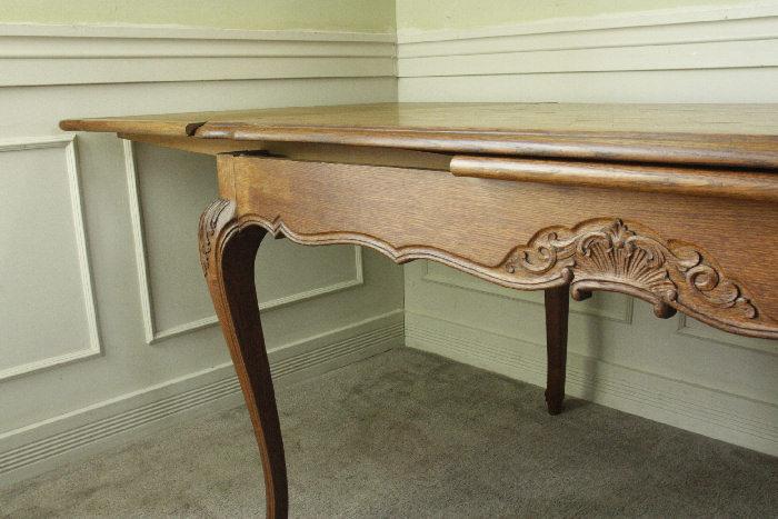 アンティークルイ15世フレンチダイニングテーブルtb37k画像18右側
