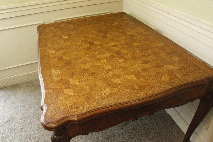 アンティークルイ15世フレンチダイニングテーブルtb37k画像23左側