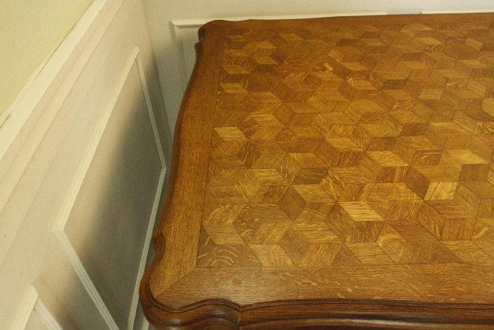 アンティークルイ15世フレンチダイニングテーブルtb37k画像24右側