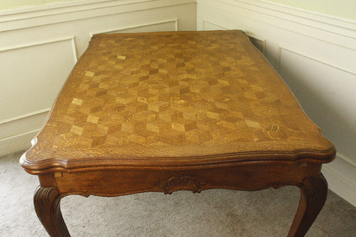 アンティークルイ15世フレンチダイニングテーブルtb37k画像27右側