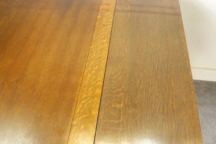 アンティークドローリーフテーブルtb40k画像8左側