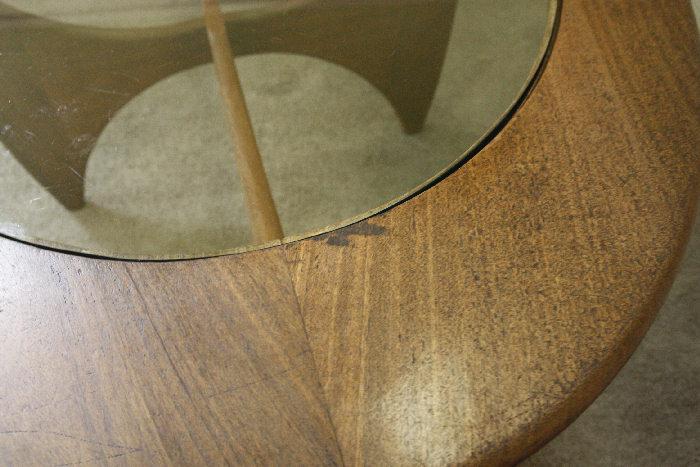 アンティークgplan オーバルコーヒーテーブルtb41k 画像3右側