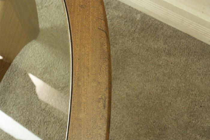 アンティークgplan オーバルコーヒーテーブルtb41k 画像9右側