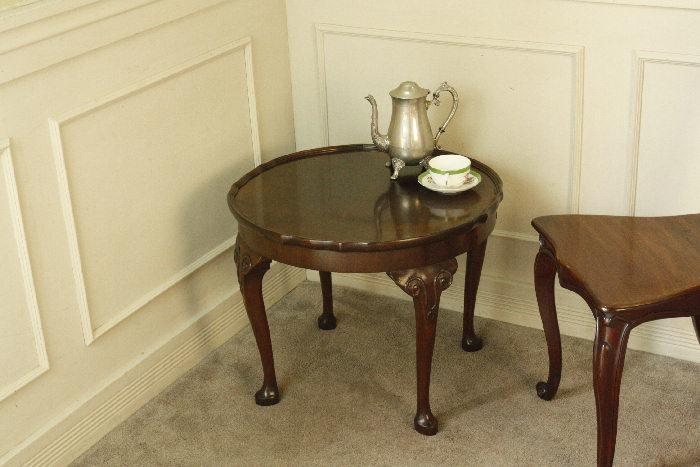 アンティークコーヒーテーブルtb46k 画像2左側