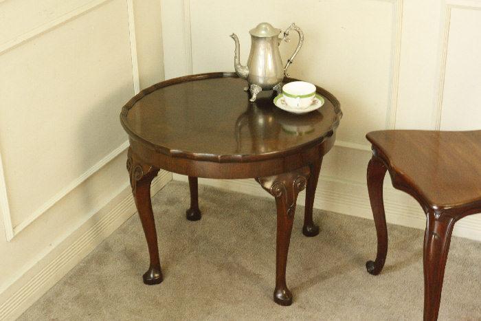 アンティークコーヒーテーブルtb46k 画像3右側
