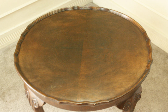 アンティークコーヒーテーブルtb46k 画像11左側