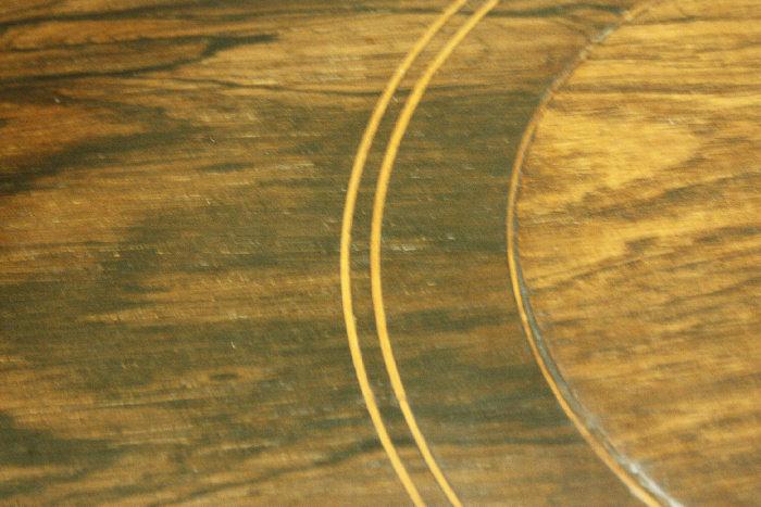 アンティークローズウッドサイドテーブルtb4k 画像12右側