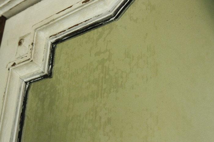 アンティークワードローブフロントミラーcb43k画像11左側